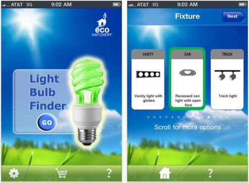 App LightbulbFinder