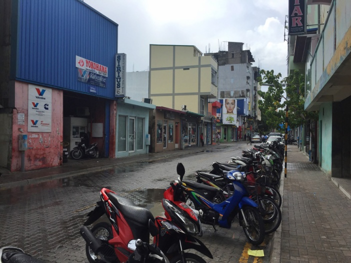 Suasana ibukota Male City, Maldives